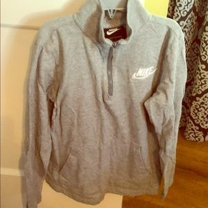 Nike 1/4 zip lightweight sweatshirt